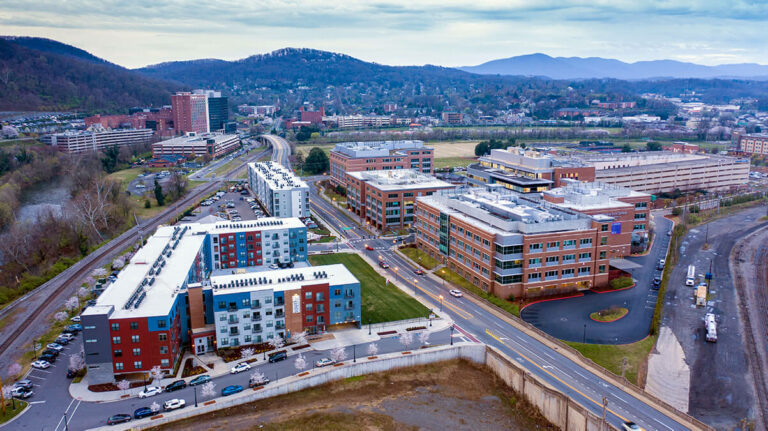 Roanokes best drone photography
