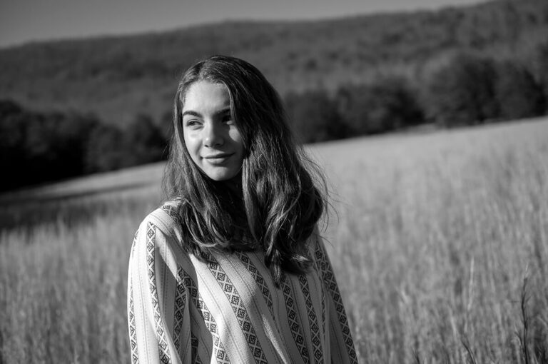 Graduation and senior portraits in Roanoke