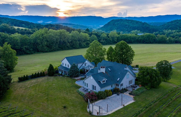 Roanoke areas best real estate drone photographer